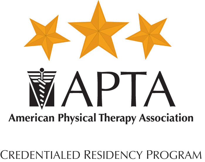 Logo of American Physical Therapy Association - Credentialed Residency Program