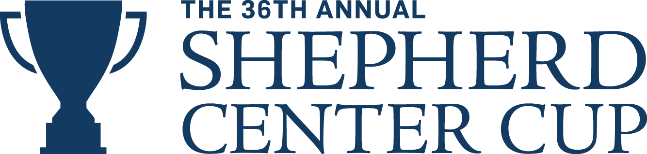 Shepherd Center Cup annual charity golf and fundraiser logo