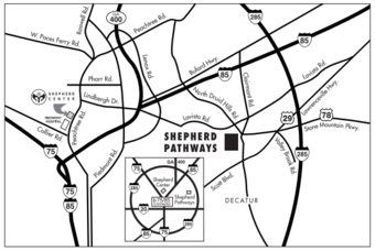 Shepherd Pathways Map