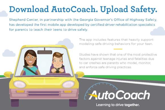 Teen Driving App >> Autocoach Safe Teen Driver Training App Shepherd Center