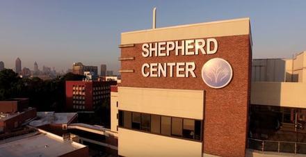Shepherd Center rehabilitation hospital in Atlanta, GA