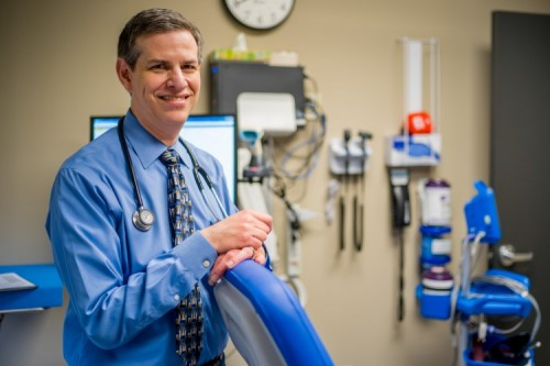 Dr. Michael Yochelson at Shepherd's outpatient rehabilitation program in Atlanta