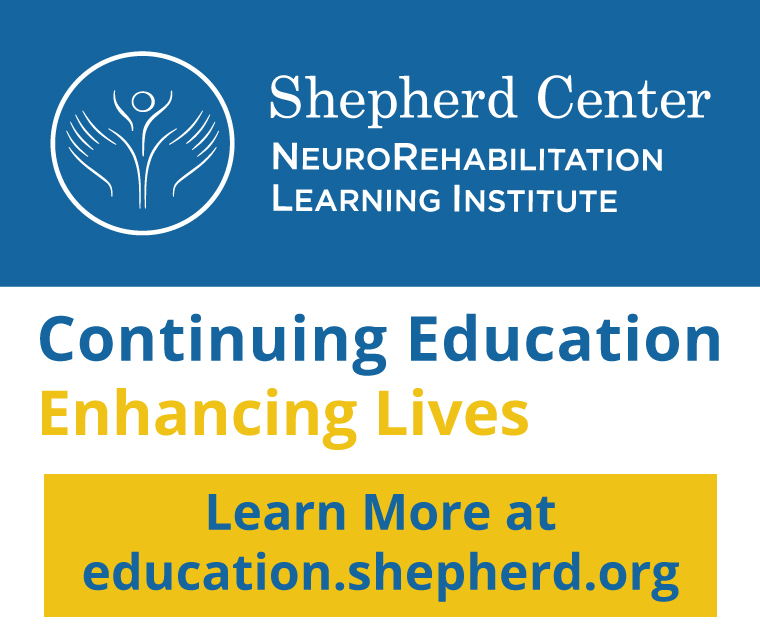 Shepherd Center NeuroRehabilitation Learning Institute