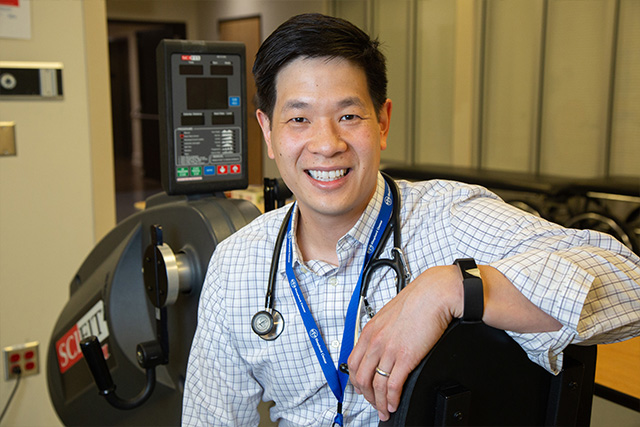 Dr. Wesley Chay, rehabilitation specialist at Shepherd Center