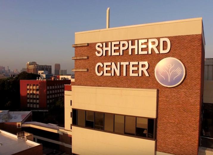 Shepherd Center's building in Atlanta, Georgia