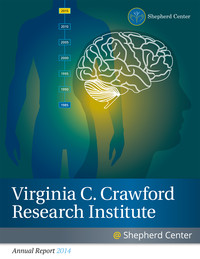 Cover page for 2014 Virginia C. Crawford Research Institute Annual Report