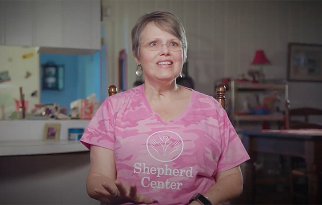 Former Shepherd Center patient Mary Pat Bauldauf shares her Story of Hope testimonial