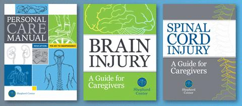 Shepherd Center brain injury and spinal cord injury manuals