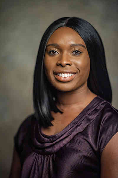 Dr. Aiwane A. Iboaya, outpatient physician at Shepherd Center's Multi-Specialty Clinic