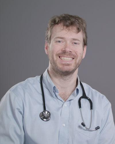 Dr. Andrew Dennison at Shepherd Center