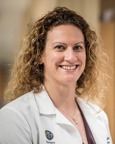 Angela Beninga, D.O., chief medical informatics officer at Shepherd Center