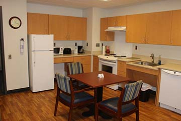 Apartment at the Irene and George Woodruff Family Residence Center